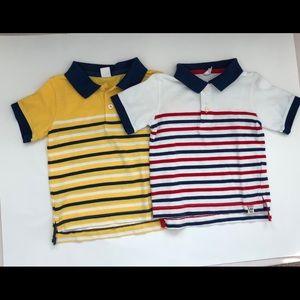 Gap Polo Stripe Polo Short Sleeve Shirt